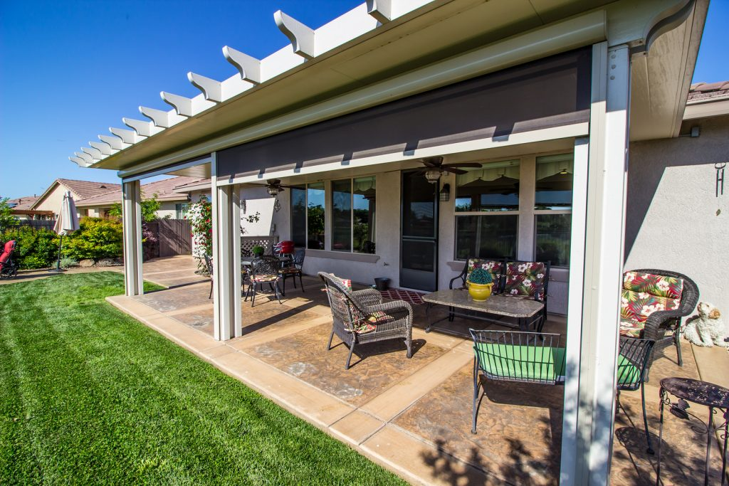 Outdoor Roll-Up Curtains Richmond | Roberts Awnings