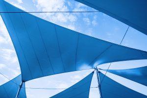 Triangle Sun Shade Richmond, Shade Sail | Roberts Awnings