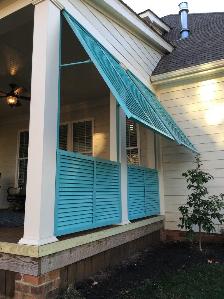 Exterior Shutters Richmond VA | Roberts Awnings